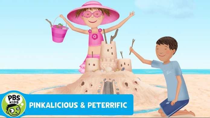 PINKALICIOUS & PETERRIFIC | Building a Sand Palace | PBS KIDS