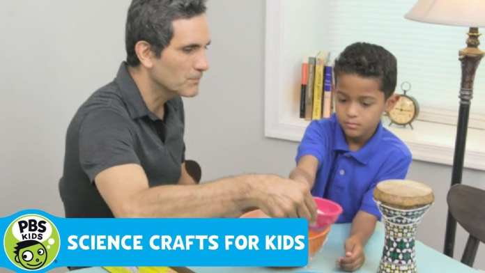 SCIENCE CRAFTS for KIDS | Sound Waves | PBS KIDS for PARENTS