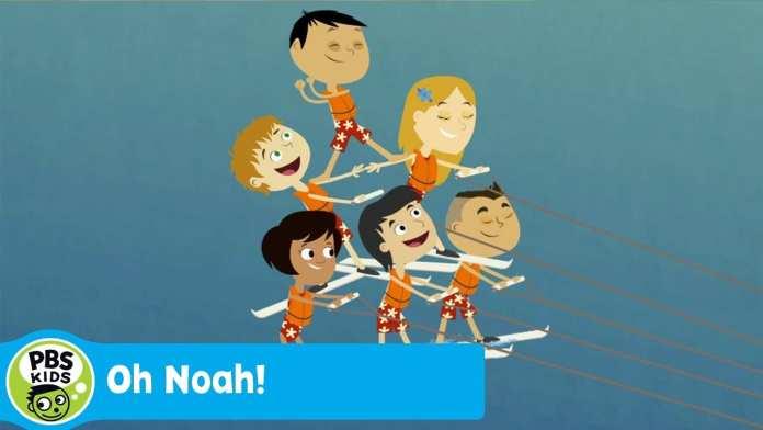 OH NOAH! | Noah Rides the Waves | PBS KIDS