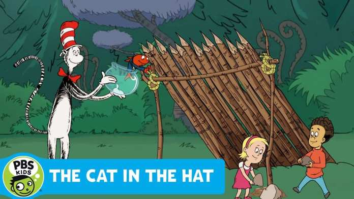 THE CAT IN THE HAT KNOWS A LOT ABOUT THAT | Making a Shelter | PBS KIDS