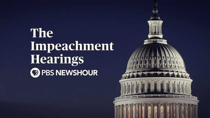 WATCH LIVE: The Trump Impeachment Hearings – Day 2 – PBS NewsHour Special