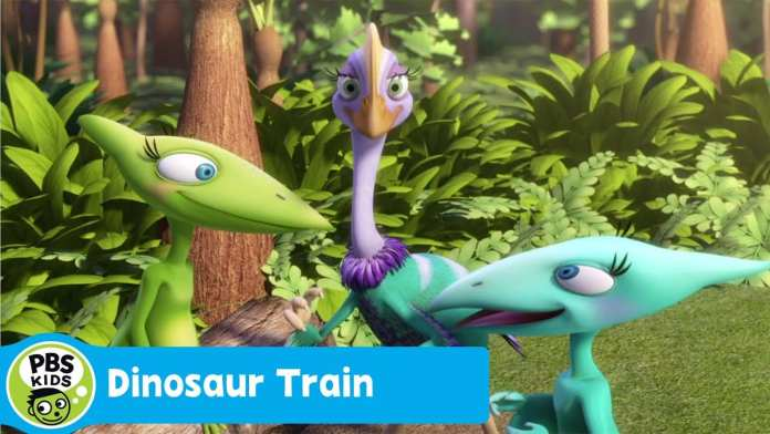 DINOSAUR TRAIN | A World Under a Log | PBS KIDS