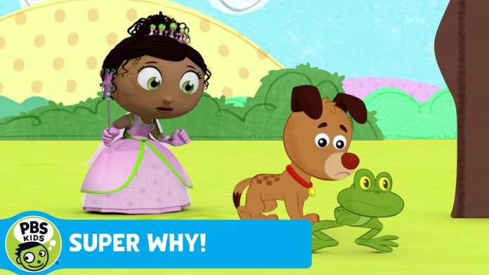 "SUPER WHY! | Red Rhymes with ""ark"" 