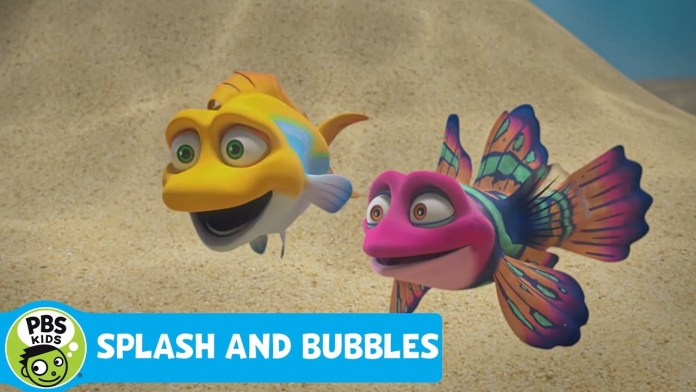 SPLASH AND BUBBLES | Golden Legs Gush | PBS KIDS