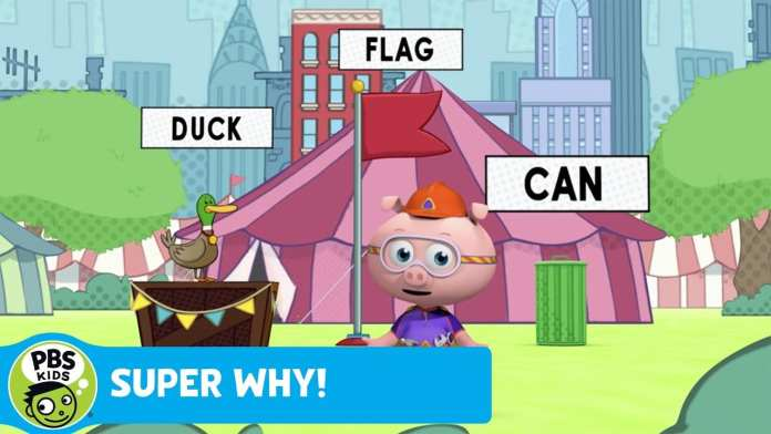 "SUPER WHY! | Woofster Defines ""Exit"" 