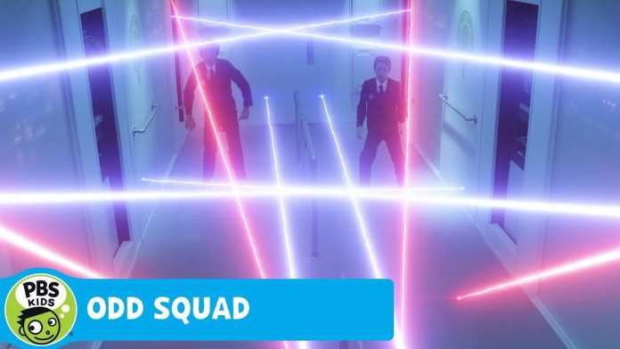 ODD SQUAD: THE MOVIE | Otto and Otis Dance Through the Lasers | PBS KIDS