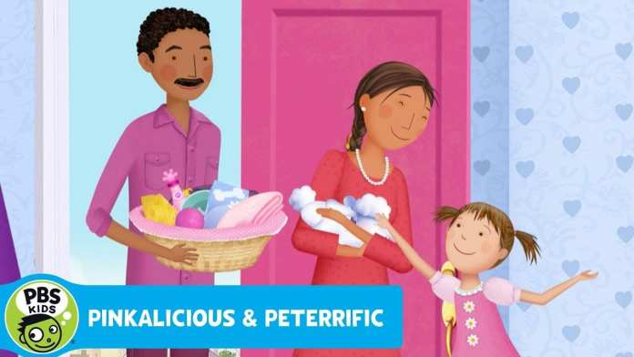 PINKALICIOUS & PETERRIFIC | Pinky Arrives | PBS KIDS