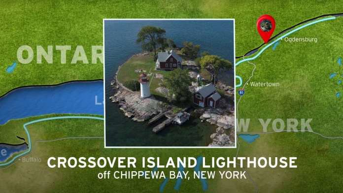 Crossover Island Lighthouse   New York's Seaway Lighthouses