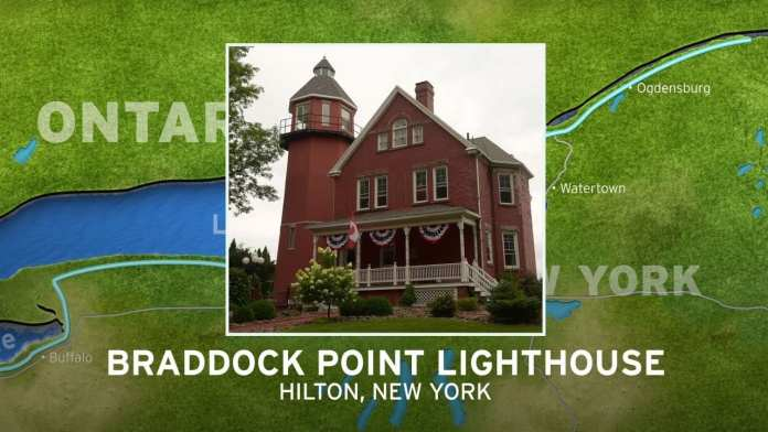 Braddock Point Lighthouse | New York's Seaway Lighthouses