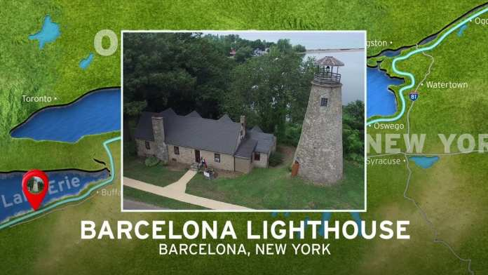 Barcelona Lighthouse | New York's Seaway Lighthouses