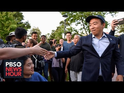 WATCH LIVE: 2020 candidate Andrew Yang files for New Hampshire primary