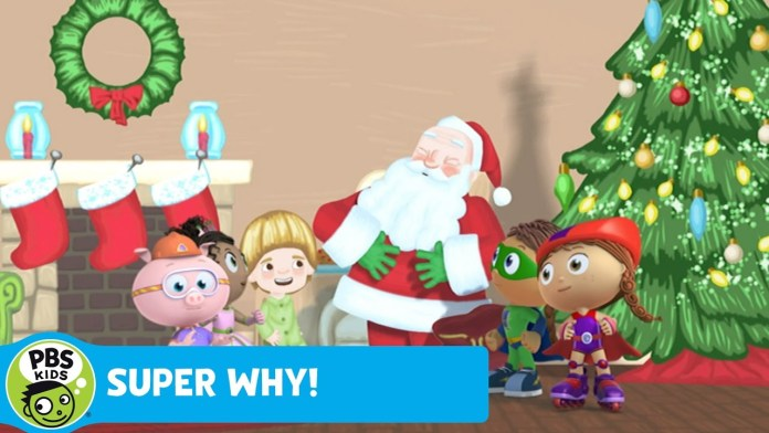 SUPER WHY! | Why Does Santa Visit on Christmas? | PBS KIDS