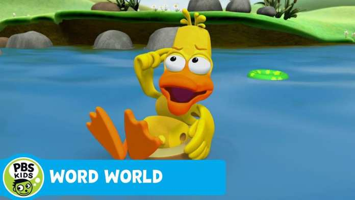 WORD WORLD | A Stuck Duck | PBS KIDS