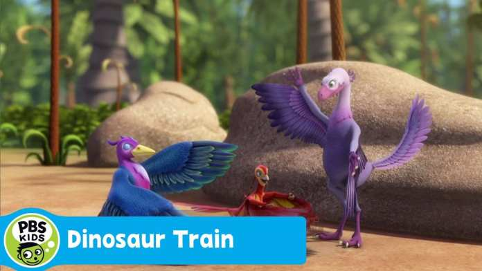 DINOSAUR TRAIN | Introducing Peng Protopteryx | PBS KIDS