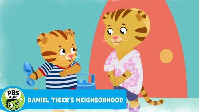 "DANIEL TIGER'S NEIGHBORHOOD   ""Go Potty, Go"" Song   PBS KIDS"