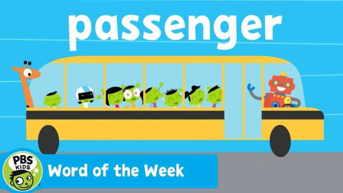 WORD OF THE WEEK | Passenger | PBS KIDS
