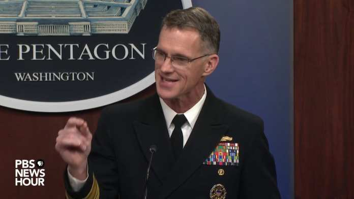 WATCH: Pentagon holds live press briefing