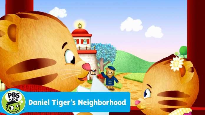 DANIEL TIGER'S NEIGHBORHOOD | We Arrive at Grandpere's House! | PBS KIDS