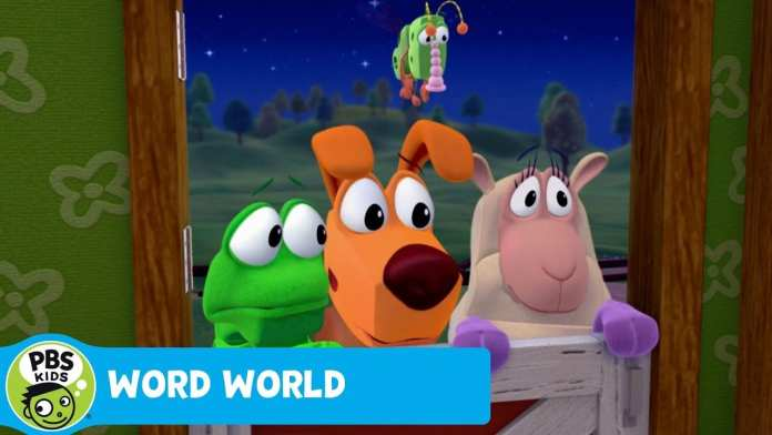 WORD WORLD | The ghost STOLE our letters! | PBS KIDS