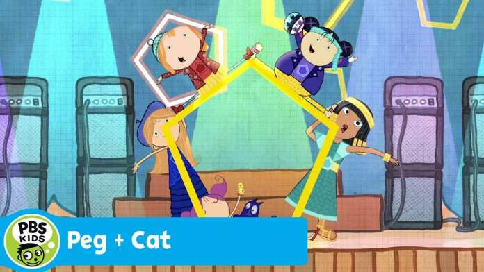 PEG + CAT | The Pentagirls (Song) | PBS KIDS
