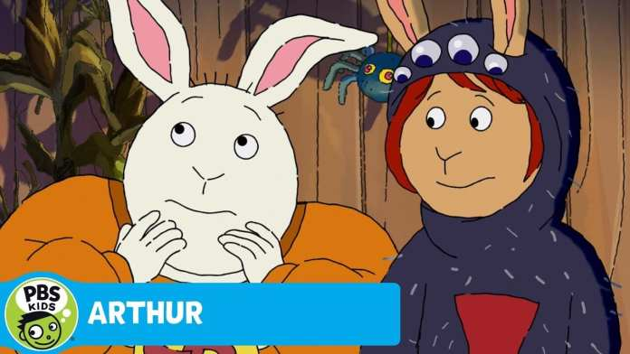 ARTHUR | The Giggling Ghost | PBS KIDS