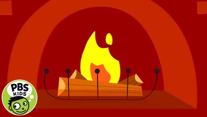 🔥❄️Warm Winter Fireplace for Kids!   PBS KIDS