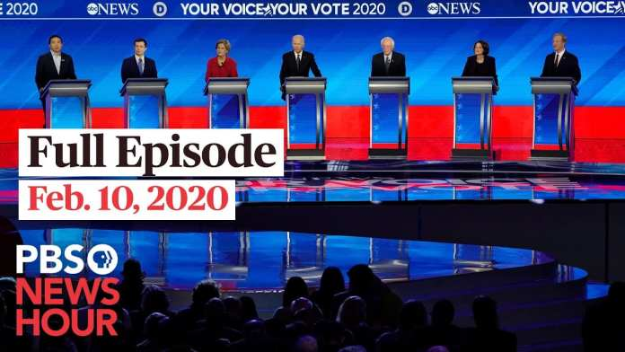 PBS NewsHour full episode, Feb 10, 2020