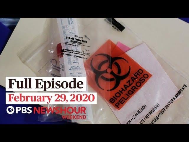 PBS NewsHour Weekend full episode February 29, 2020