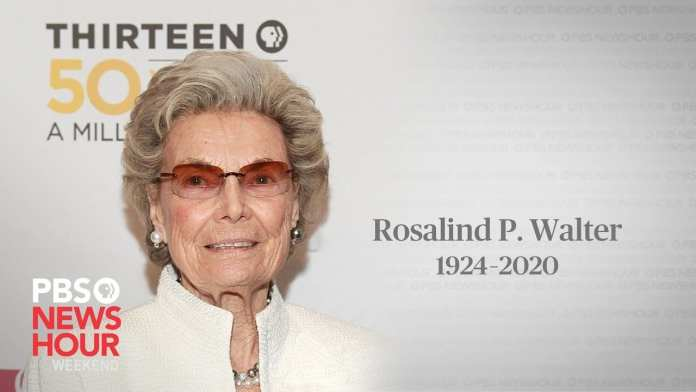 Remembering Rosalind P. Walter's impact on PBS programming