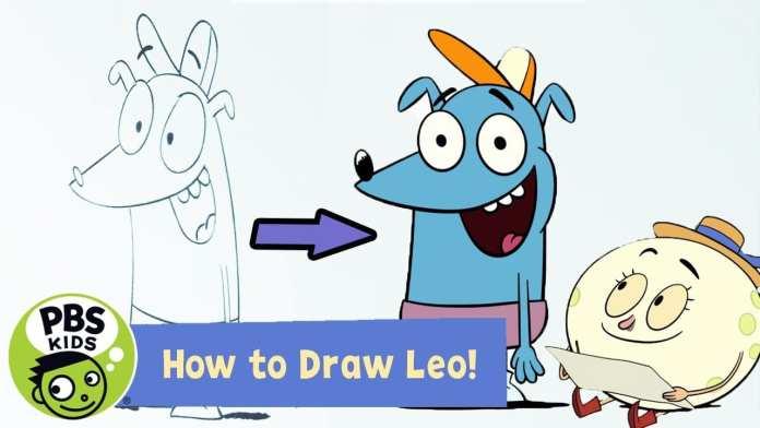 Let's Go Luna | ✏️How to Draw Leo! | PBS KIDS