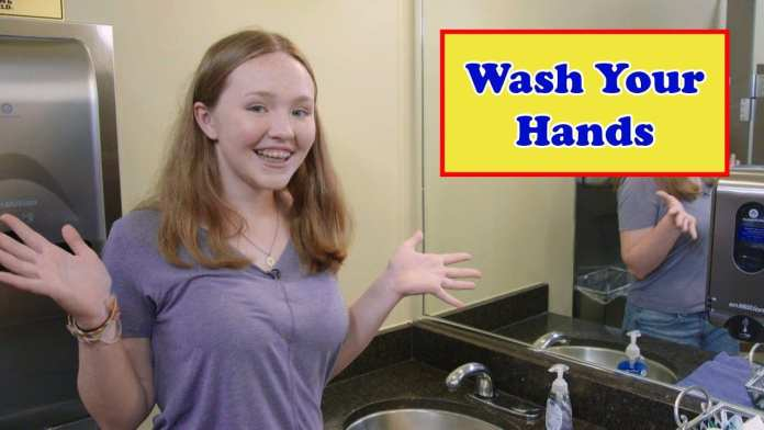 The Best Way to Stay Healthy is to Wash Your Hands Often
