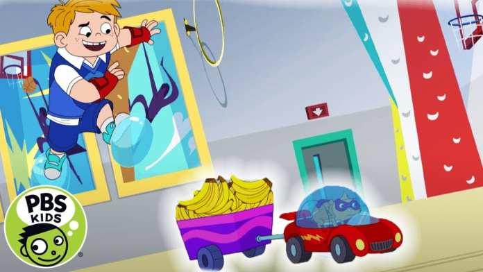 Hero Elementary | Sneak Peek: Catch the Banana Bandit! | PBS KIDS