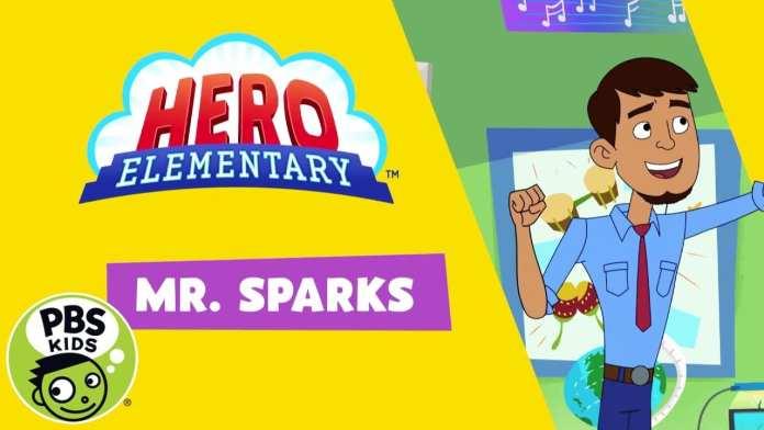 Hero Elementary | Meet Mr. Sparks! | PBS KIDS