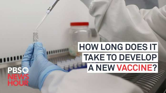 WATCH: How long does it take to develop a new vaccine?