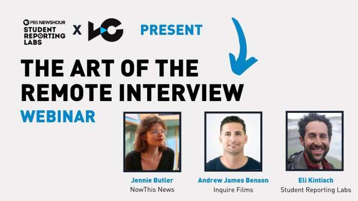 WEBINAR: The Art of the Remote Interview