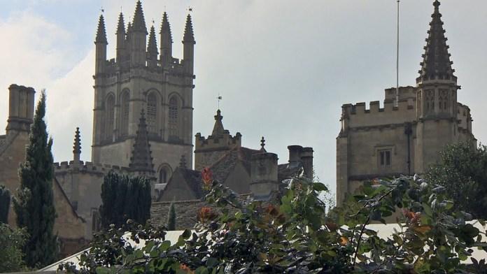 Endeavour, Season 4: Filming in Oxford