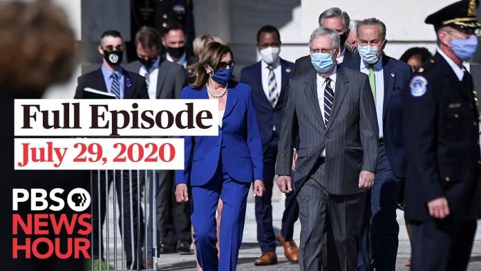 PBS NewsHour full episode, July 29, 2020