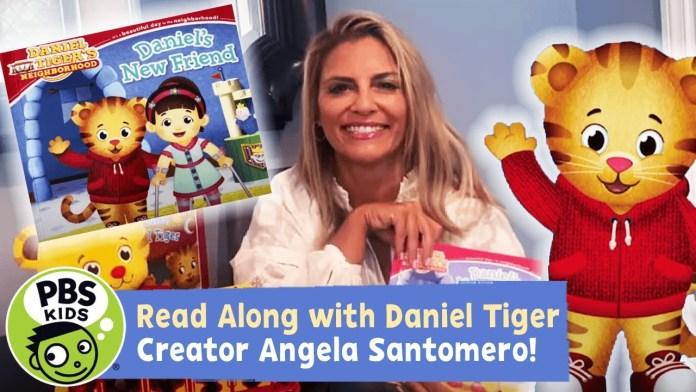 Daniel's New Friend! | Daniel Tiger READ ALONG! | PBS KIDS