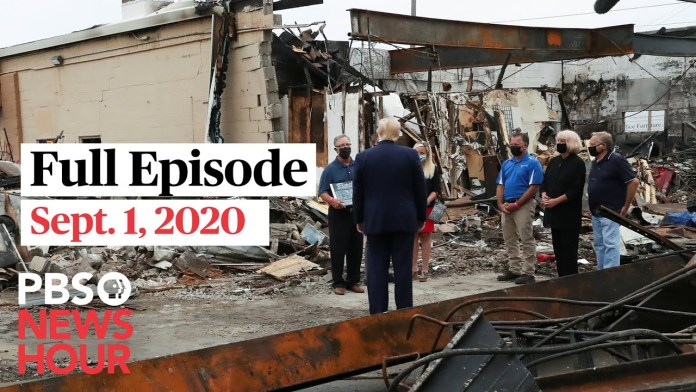 PBS NewsHour full episode, Sept. 1, 2020