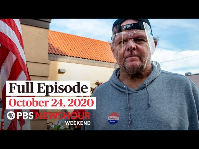PBS NewsHour Weekend Full Episode October 24, 2020