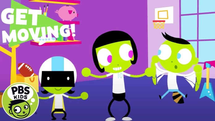 PBS KIDS: Get Moving!   Fast and Slow Again