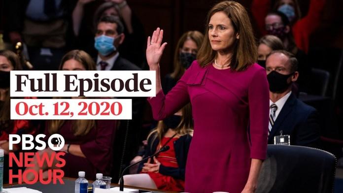 PBS NewsHour full episode, Oct. 12, 2020