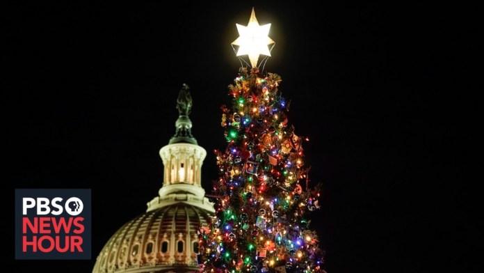 WATCH LIVE: Capitol Christmas tree lighting ceremony in Washington, D.C.