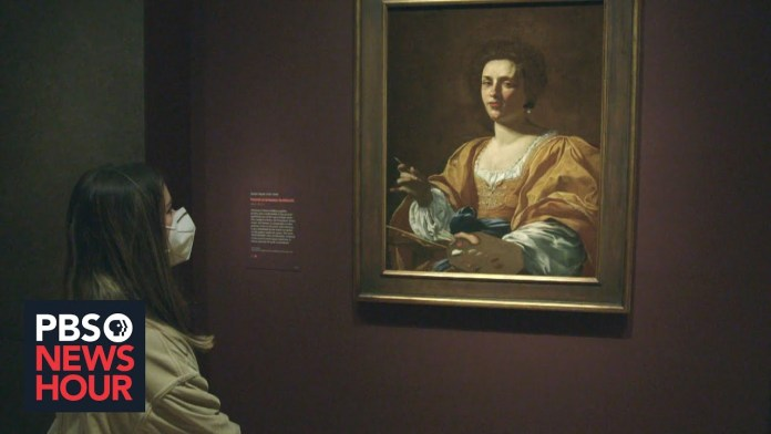 Renaissance master painter breaks gender barriers centuries later