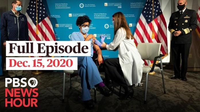 PBS NewsHour West live episode, Dec. 15, 2020