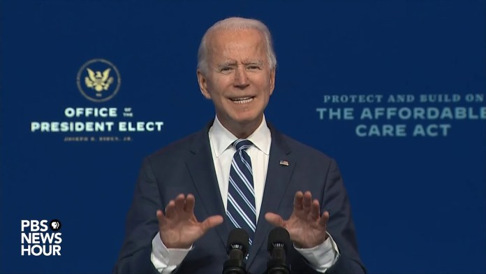 WATCH: President-elect Biden speaks on plan for health care