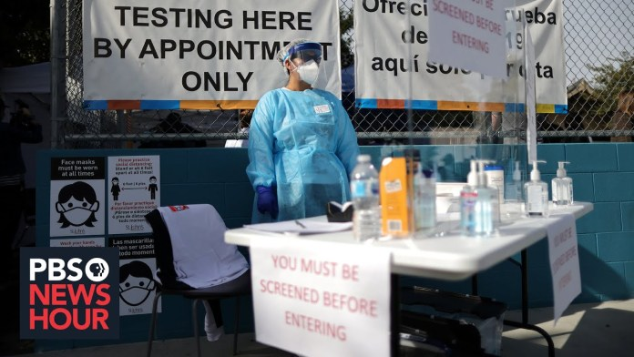 U.S. vaccination campaign struggles to keep pace with infections