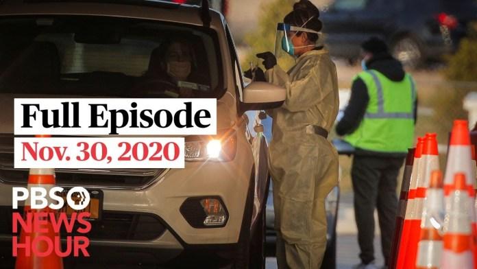 PBS NewsHour West live episode, Nov. 30, 2020