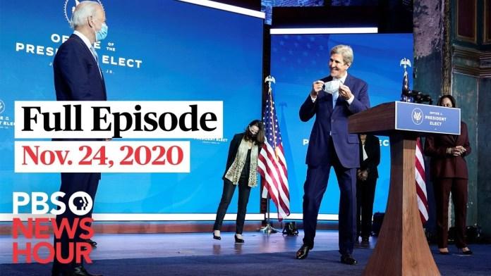 PBS NewsHour West live episode, Nov. 24, 2020