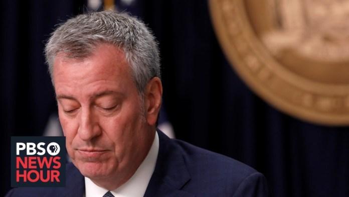 WATCH LIVE: New York Mayor Bill de Blasio gives coronavirus update — November 23, 2020
